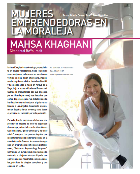 mujeres emprendedoras lamoraleja citadental